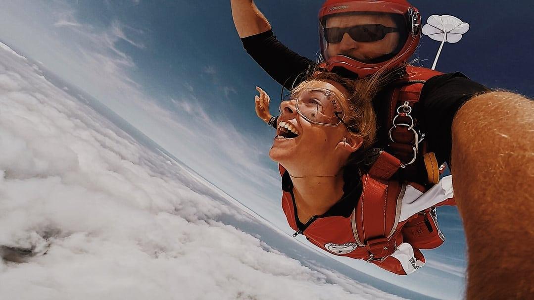 tandem skydive in vrijeval boven ameland